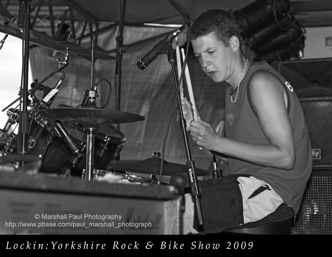 Lockin - Yorkshire Rock & Bike Show 2009