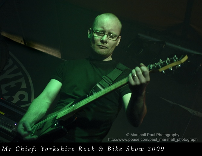 Mr Chief - Yorkshire Rock & Bike Show 2009