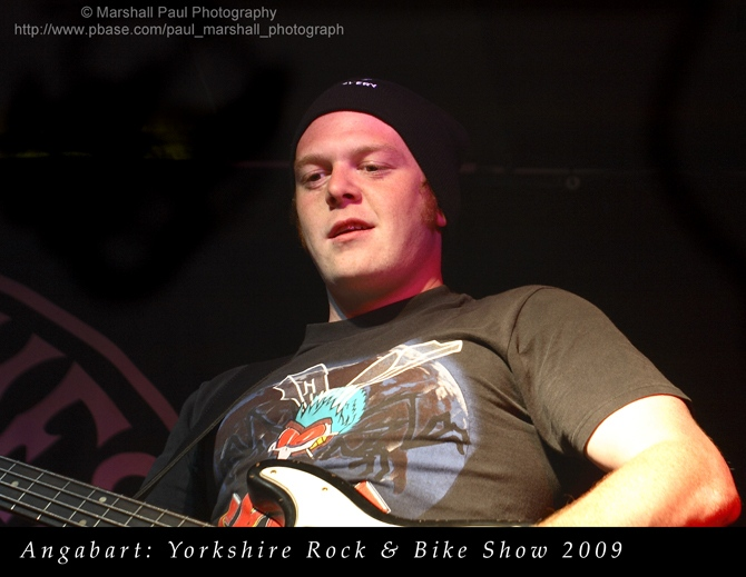 Angabart - Yorkshire Rock & Bike Show 2009