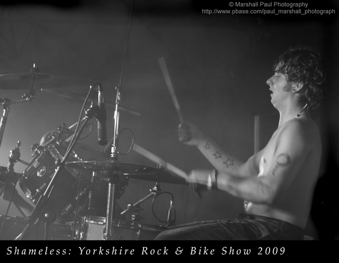 Shameless-Yorkshire Rock & Bike Show 2009