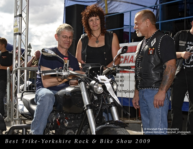 Best Trike- Yorkshire Rock & Bike Show 2009