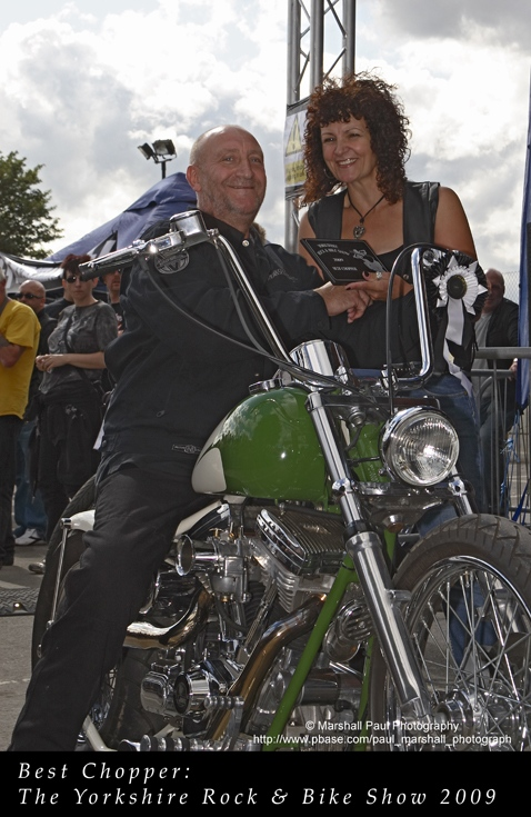 Best Chopper- Yorkshire Rock & Bike Show 2009
