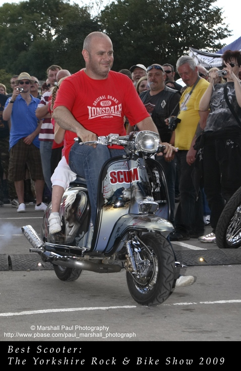 Best Scooter- Yorkshire Rock & Bike Show 2009