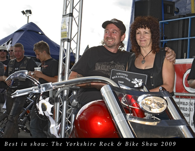 Best in Show- Yorkshire Rock & Bike Show 2009