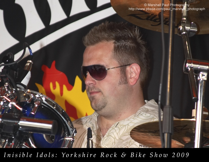 Invisible Idols - Yorkshire Rock & Bike Show 2009