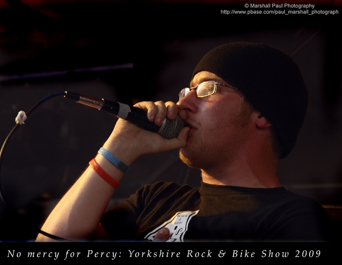 No Mercy for Percy - Yorkshire Rock & Bike Show 2009