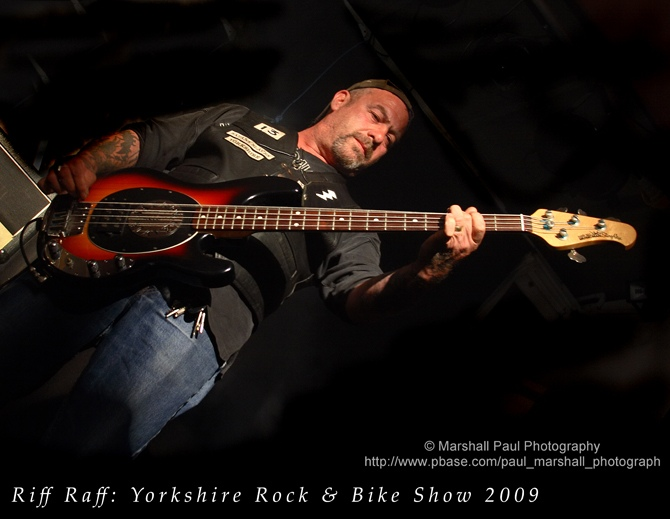 Riff Raff-Yorkshire Rock & Bike Show 2009