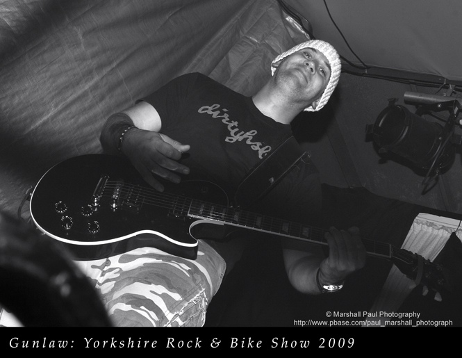 Gunlaw-Yorkshire Rock & Bike Show 2009