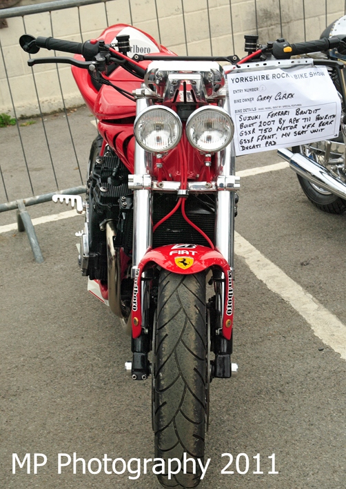 Best Streetfighter Yorkshire Rock & Bike Show 2011