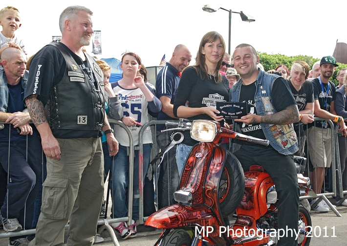 Best Scooter Yorkshire Rock & Bike Show 2011