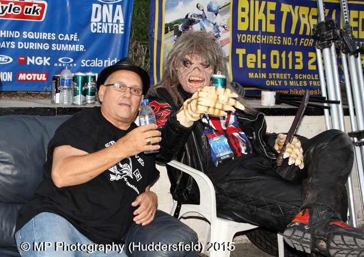 Hi On Maiden: Yorkshire Rock & Bike Show 2015
