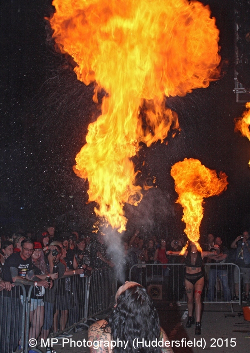 Fire Eaters in actions