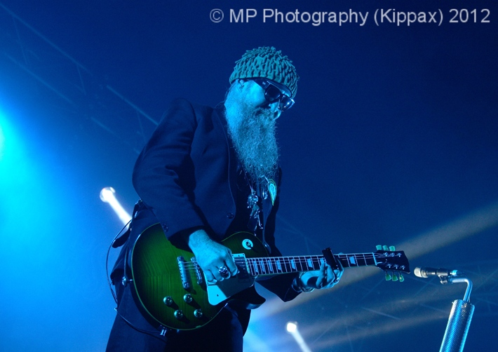 The ZZ Tops, Back Street Heroes Tent: Farmyard Party 2012